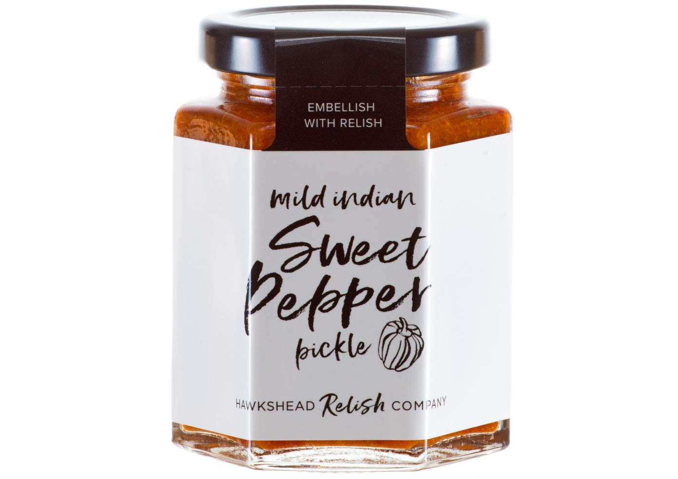 Hawkshead Relish Co Mild Indian Sweet Pepper Pickle