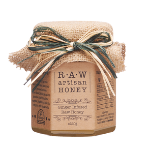 Raw Artisan Ginger Infused Honey