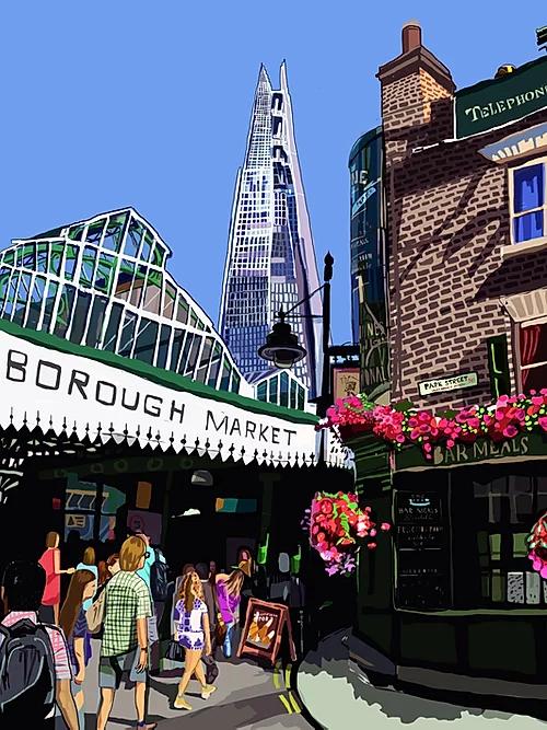 Tomartacus Print Borough Market