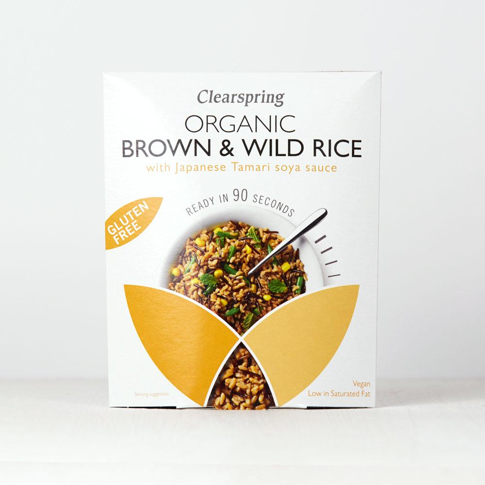 Clearspring Organic Brown & Wild Rice