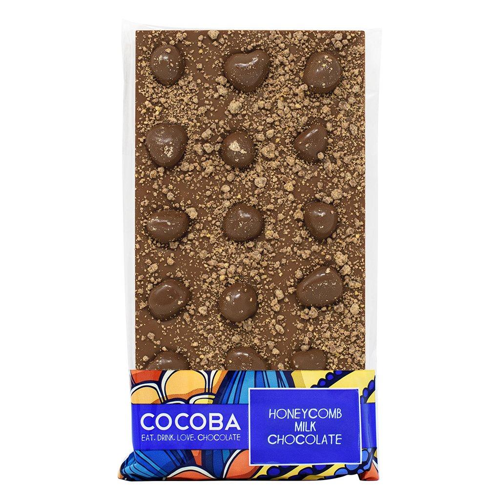 Cocoba Honeycomb Milk Chocolate Bar