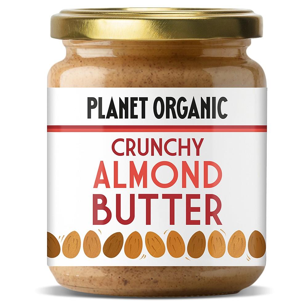 Planet Organic Crunchy Almond Butter