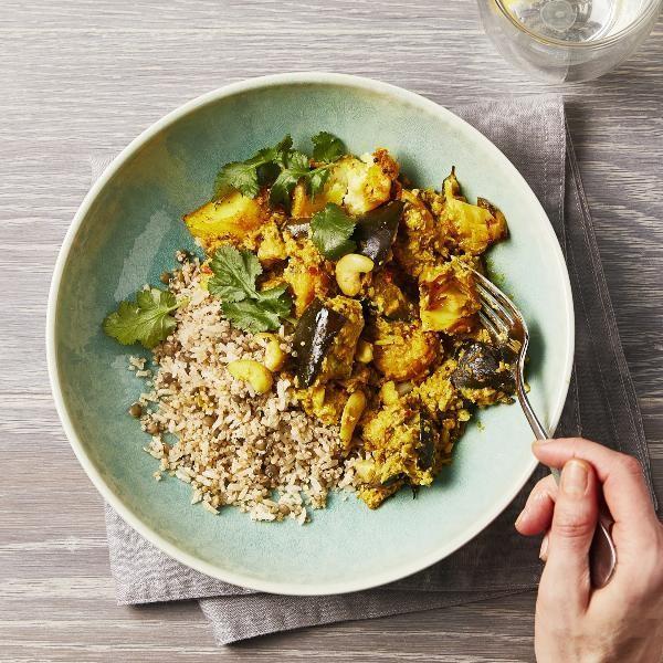 ByRuby Keralan Vegetable Curry