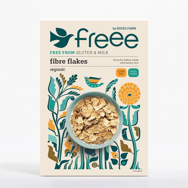 Doves Farm Free From Organic Fibre Flakes