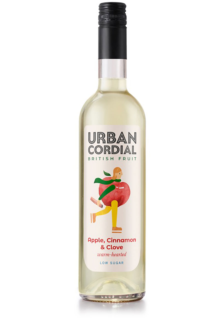 Urban Cordial Apple Cinnamon and Clove