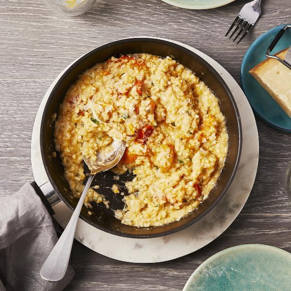 ByRuby Butternut Squash and Tomato Risotto