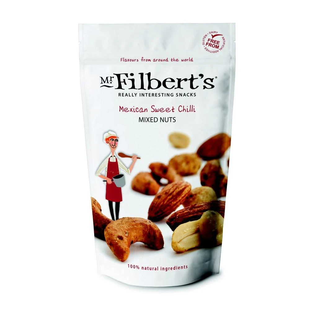 Mr Filberts Mexican Sweet Chilli Mixed Nuts