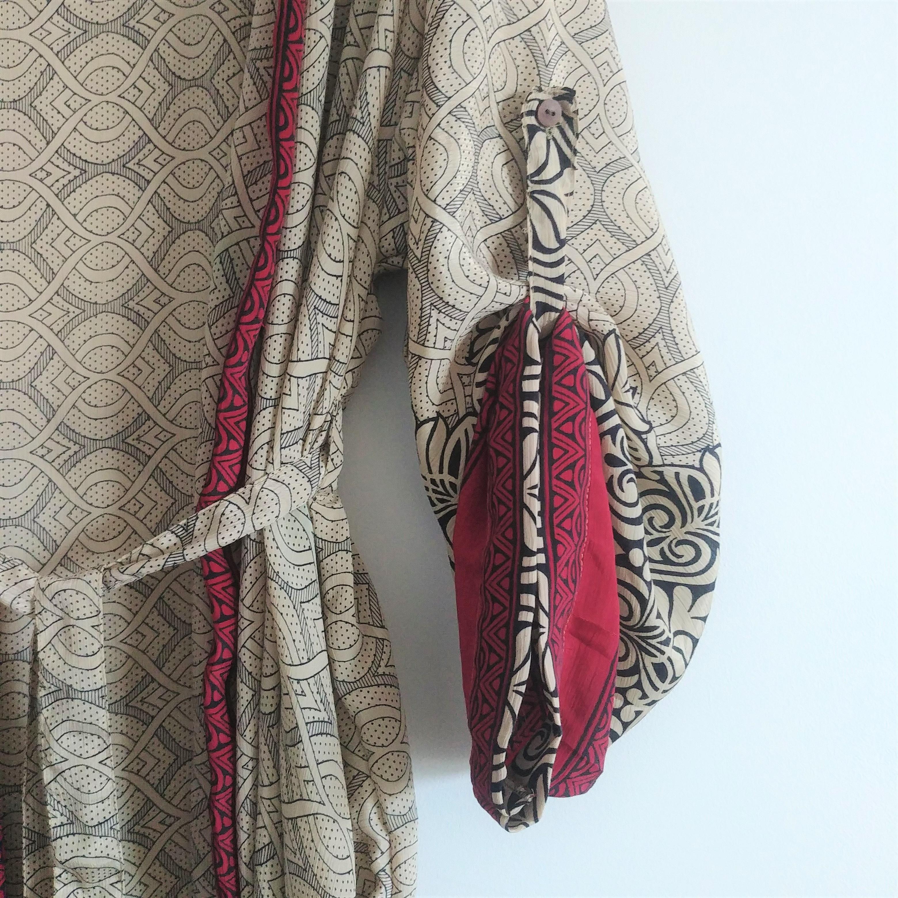 The Kimono Company - Long Kimono, Barley Weave