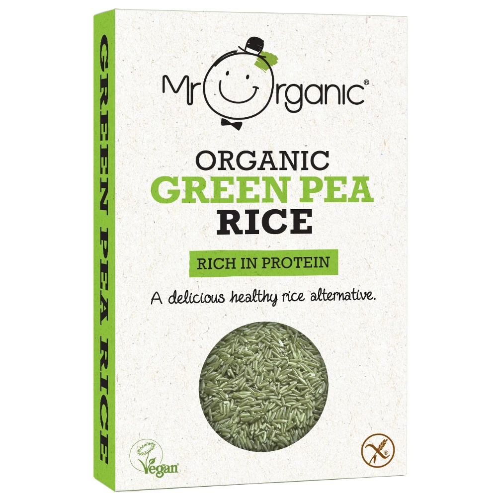 Mr Organic Green Pea Rice