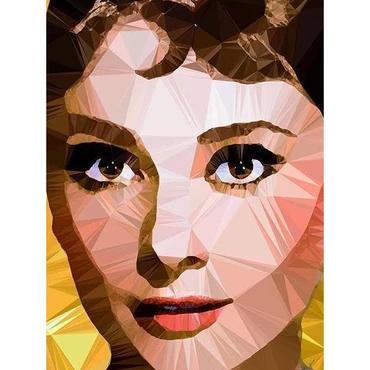 Egoiste Gallery Audrey Hepburn Signed A3 Print
