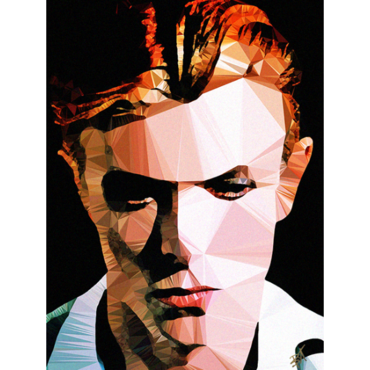 Egoiste Gallery David Bowie Signed Print