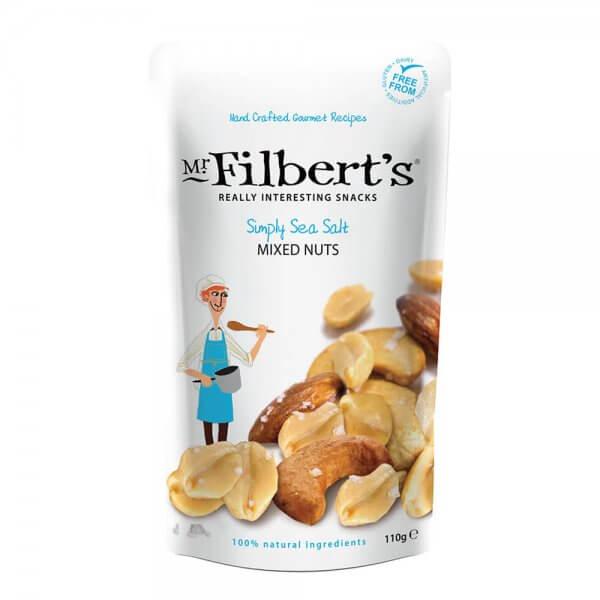 Mr Filberts Simply Sea Salt Mixed Nuts