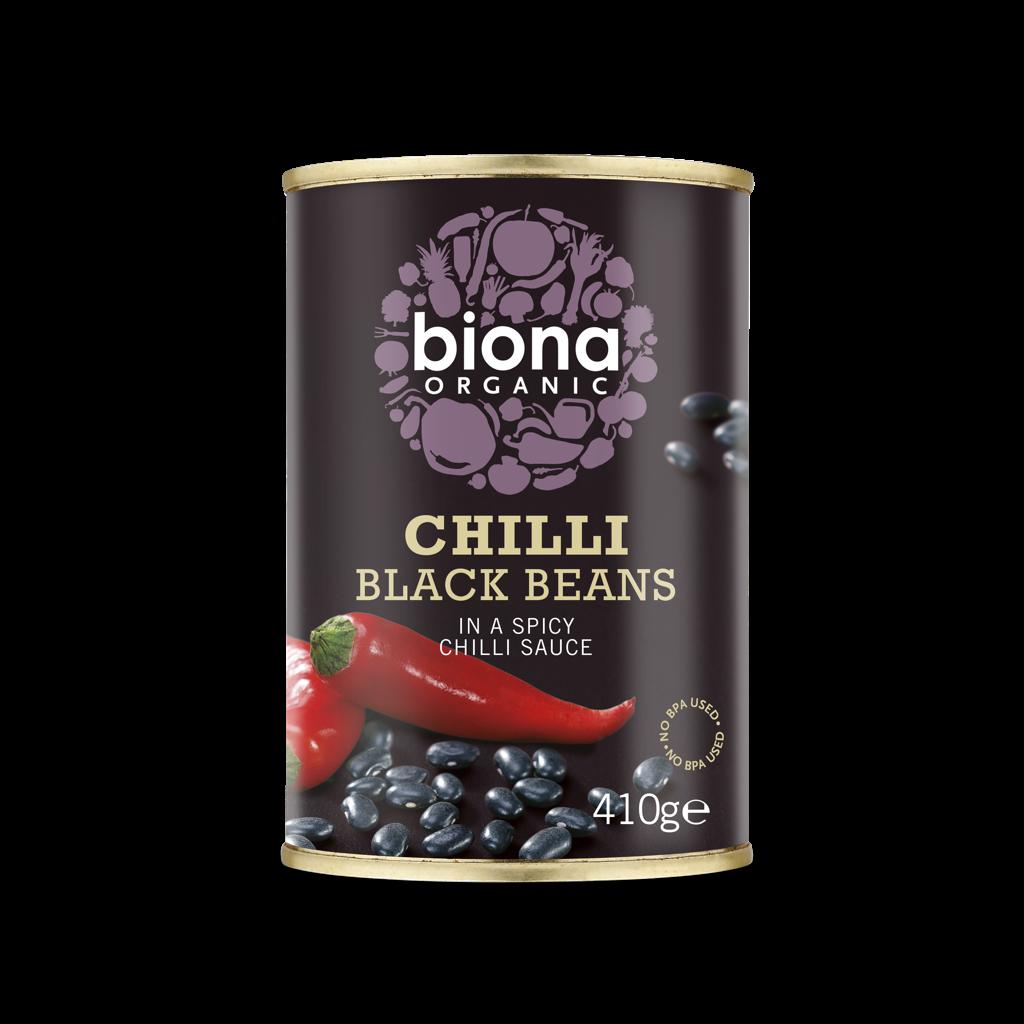 Biona Organic Chilli Black Beans