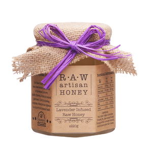 Raw Artisan Lavendar Infused Honey