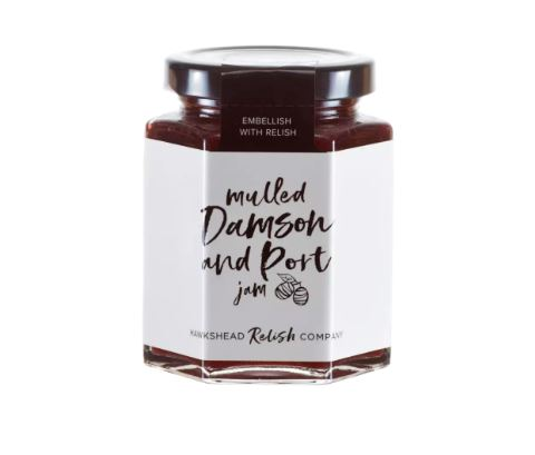 Hawkshead Relish Co Mulled Damson & Port Jam