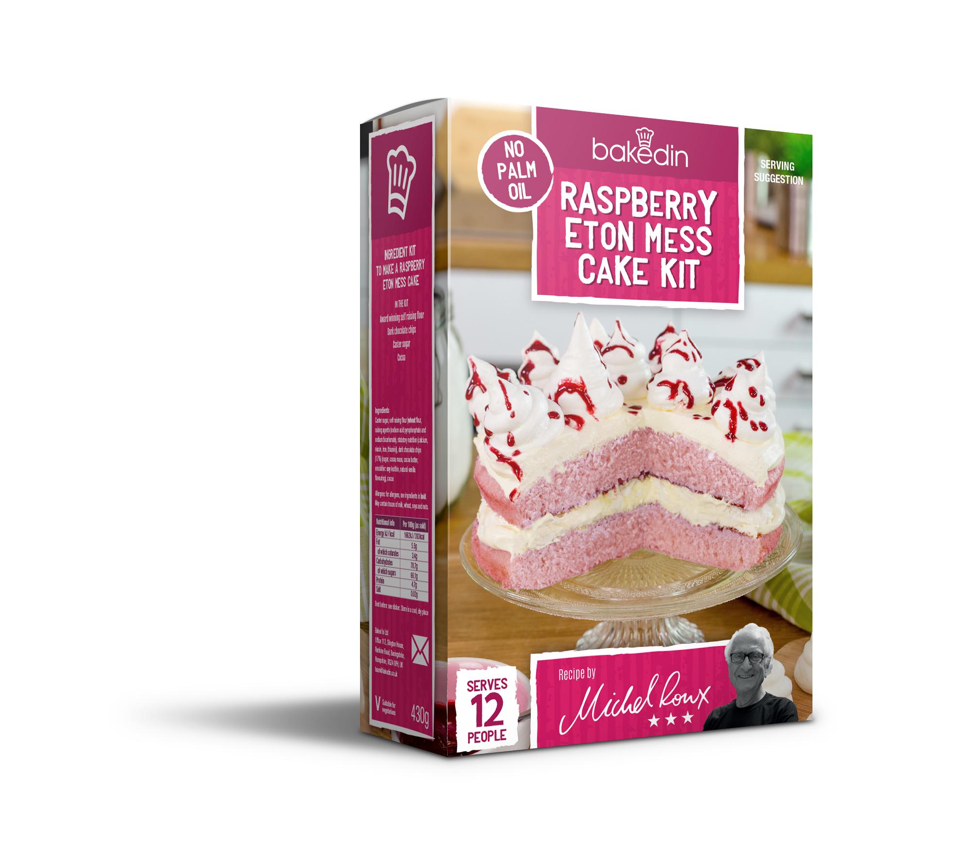 Baked In Raspberry Eton Mess Cake Kit