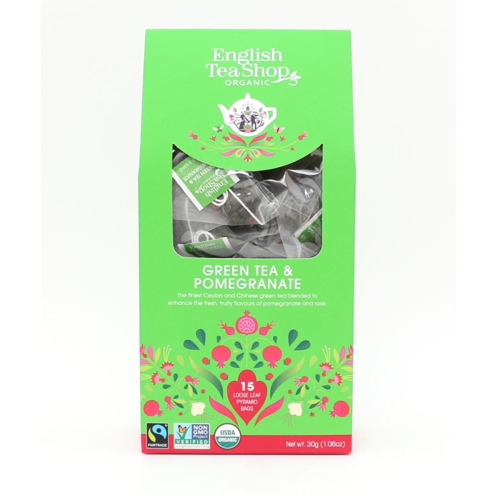 English Tea Shop Green Tea & Pomegranate