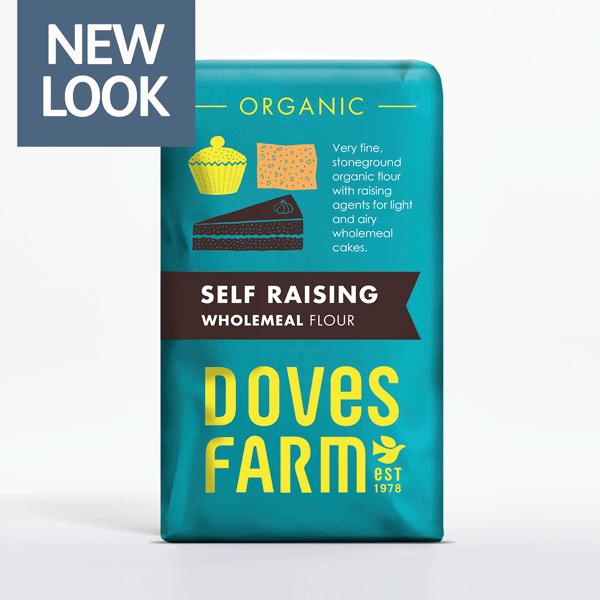 Doves Farm Self Raising Wholemeal Flour