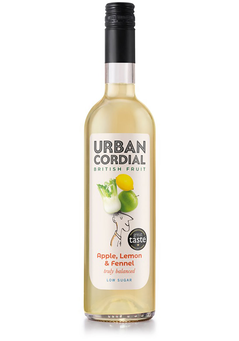 Urban Cordial Apple Lemon and Fennel