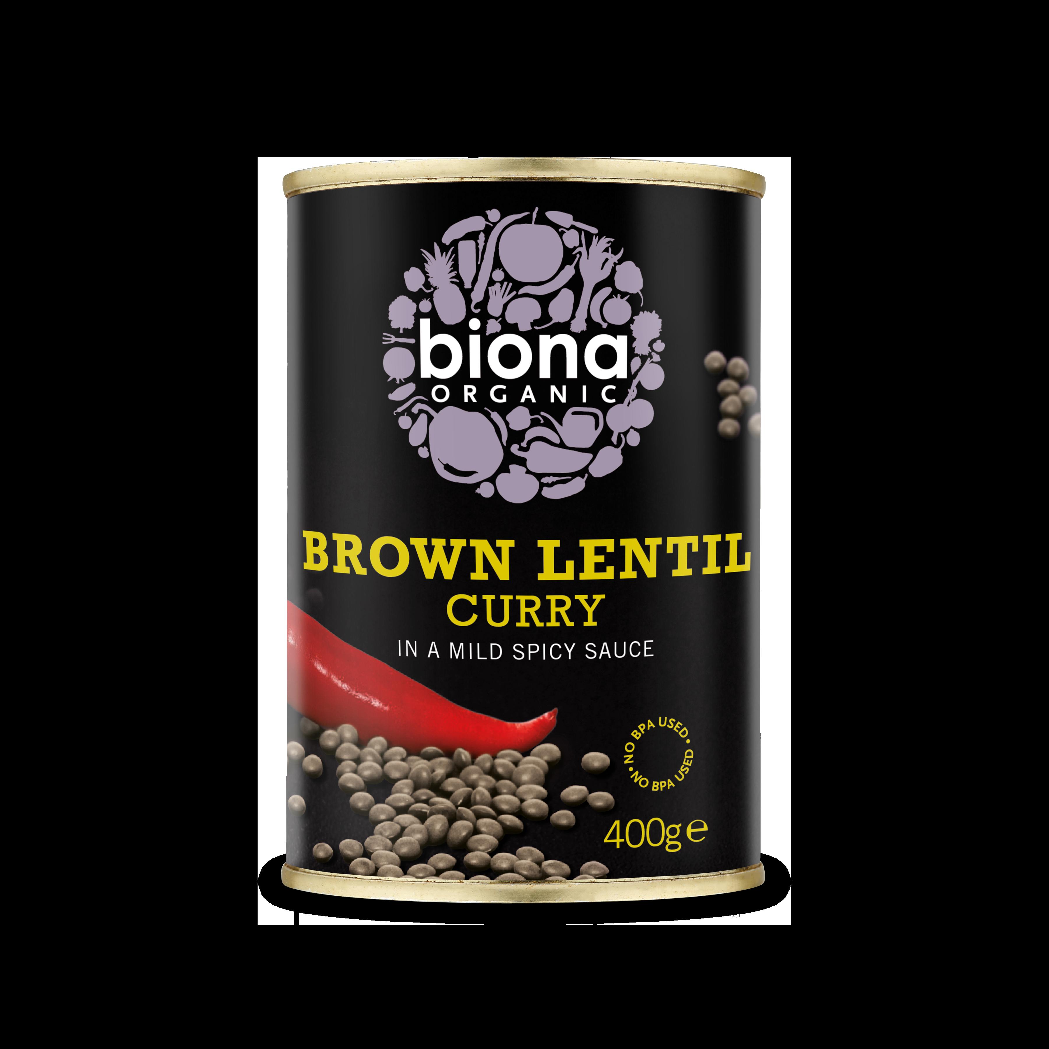 Biona Organic Brown Lentil Curry