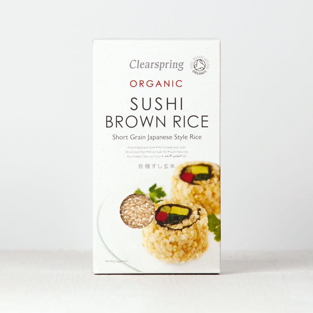 Clearspring Organic Sushi Brown Rice