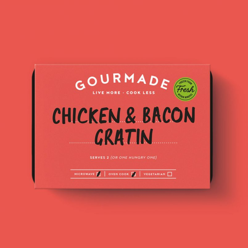 Gourmade Chicken and Bacon Gratin