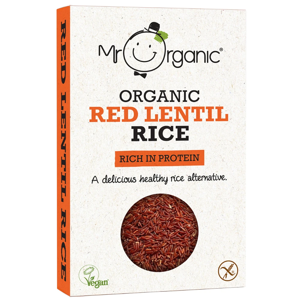 Mr Organic Red Lentil Rice