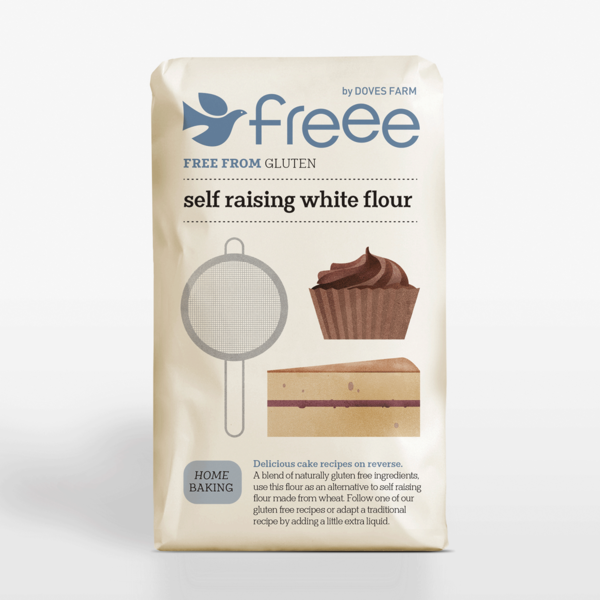 Doves Farm Free From Gluten Self Raising Flour