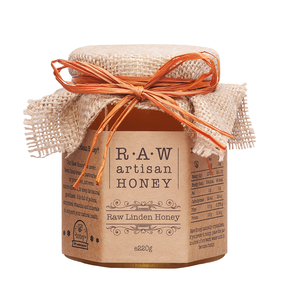 Raw Artisan Linden Honey