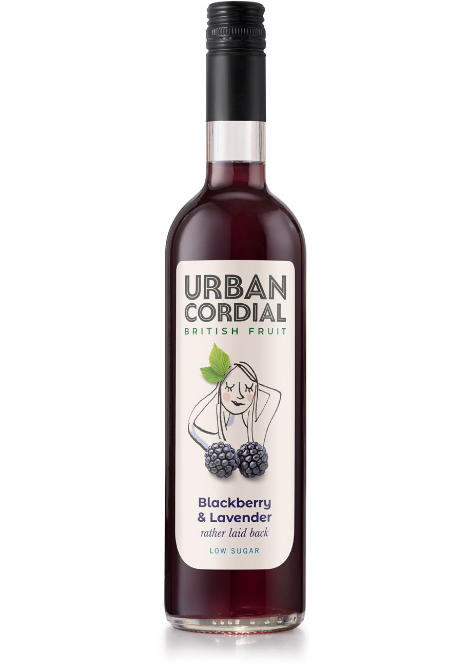 Urban Cordial Blackberry and Lavender