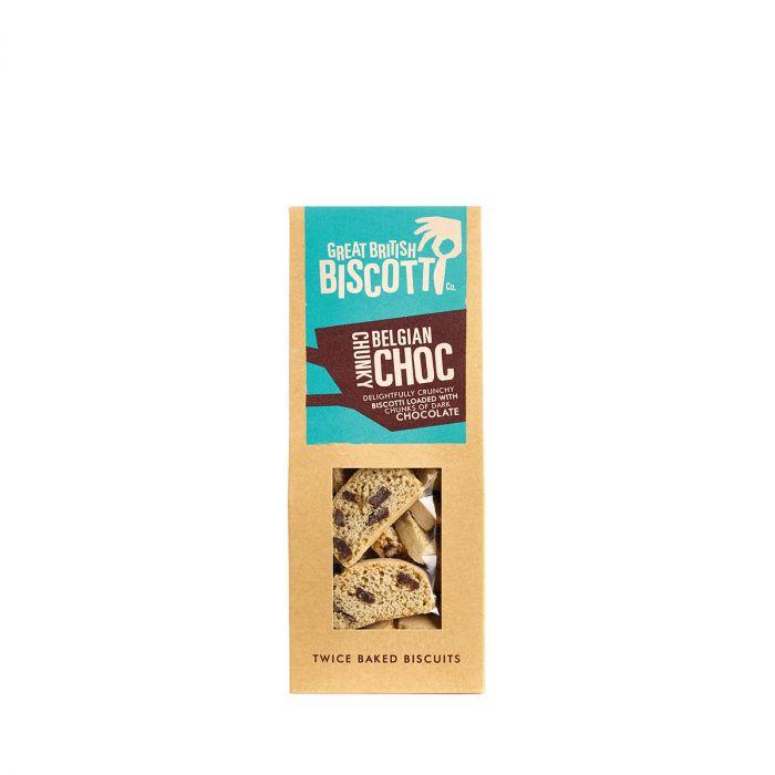 Great British Biscotti Belgian Chunky Choc