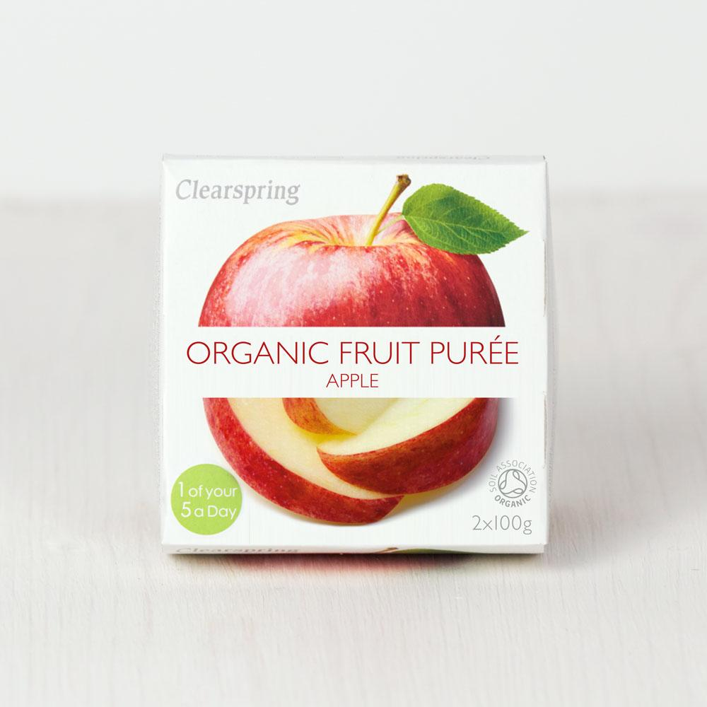 Clearspring Organic Fruit Puree - Apple