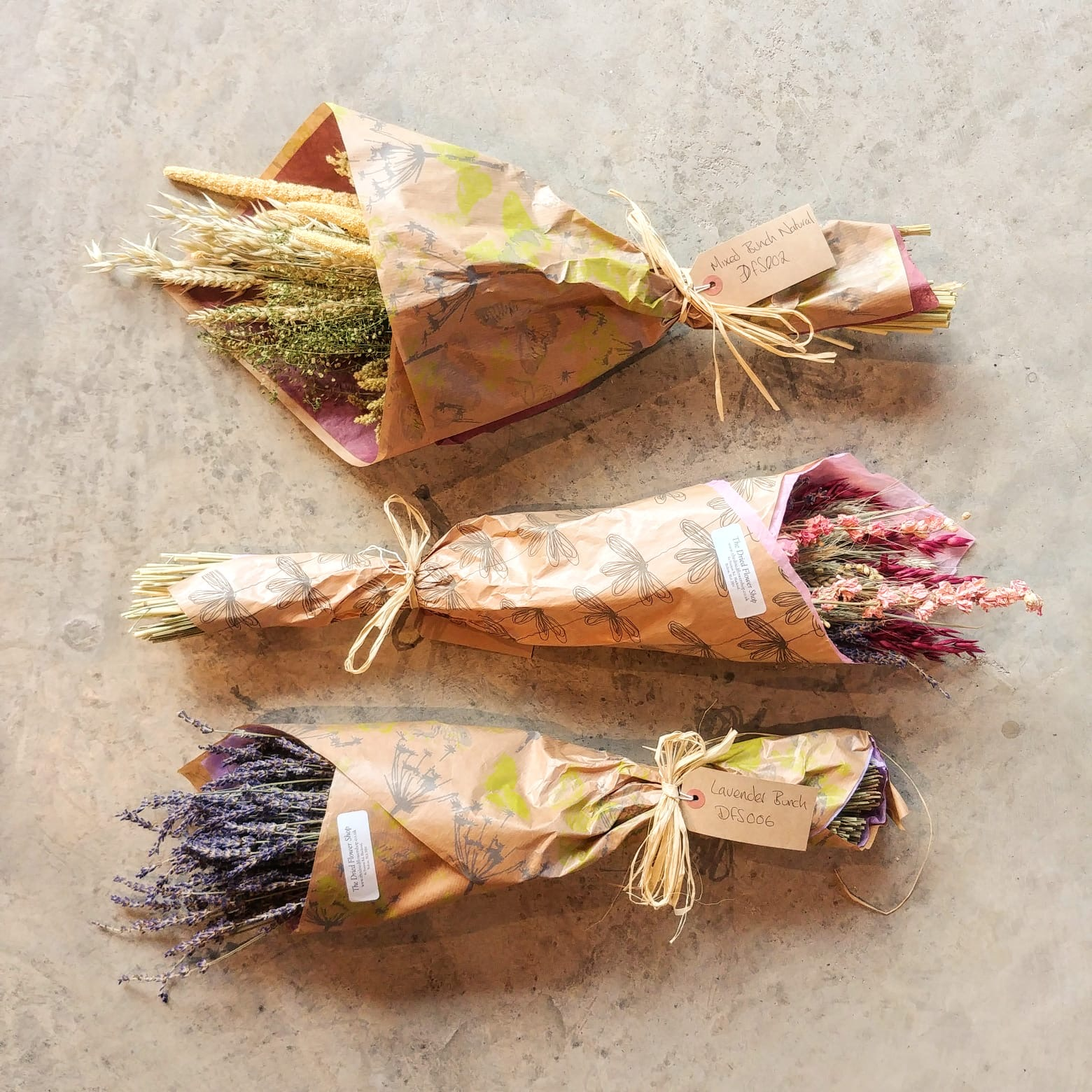The Dried Flower Shop Mixed Bunch