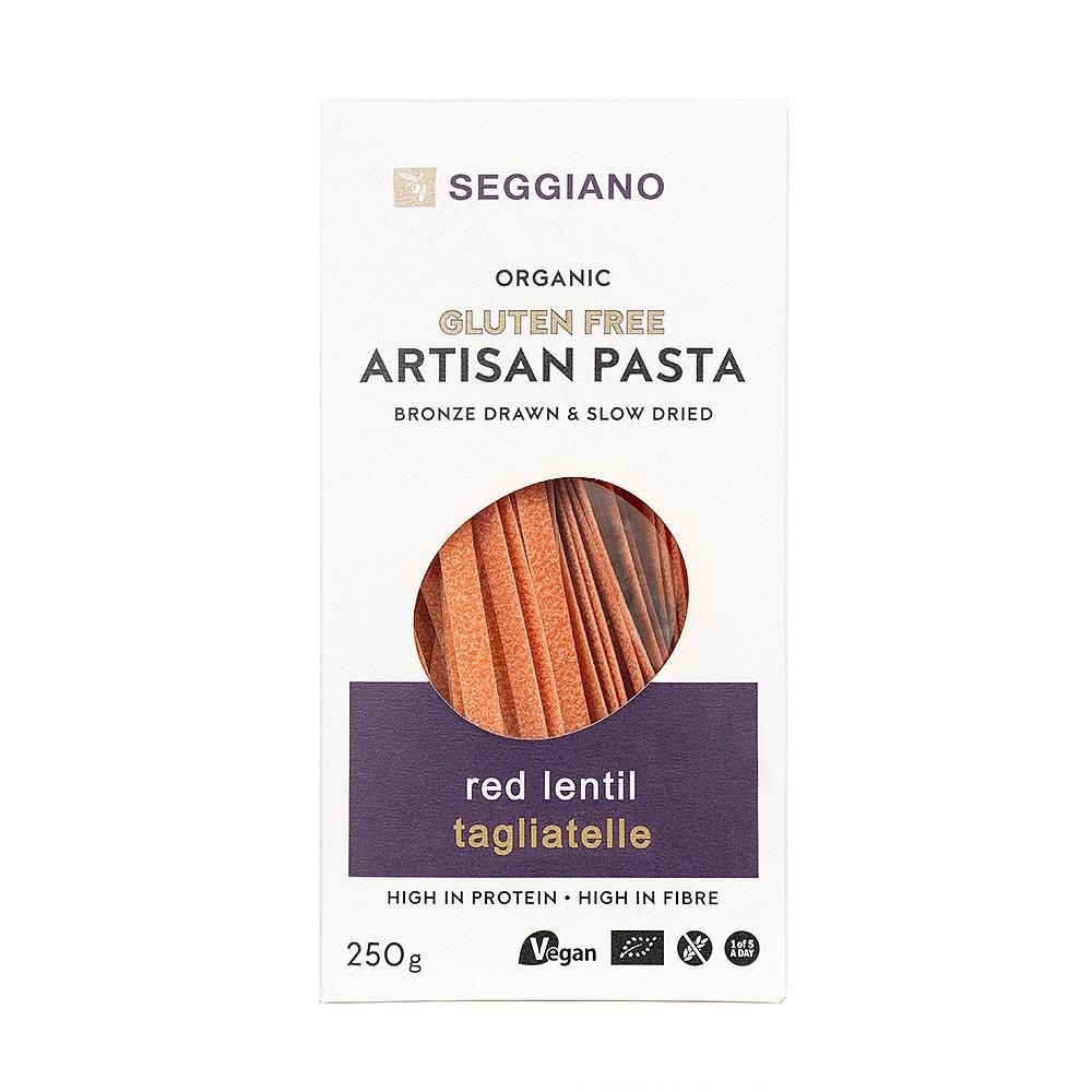 Seggiano Organic Red Lentil Tagliatelle