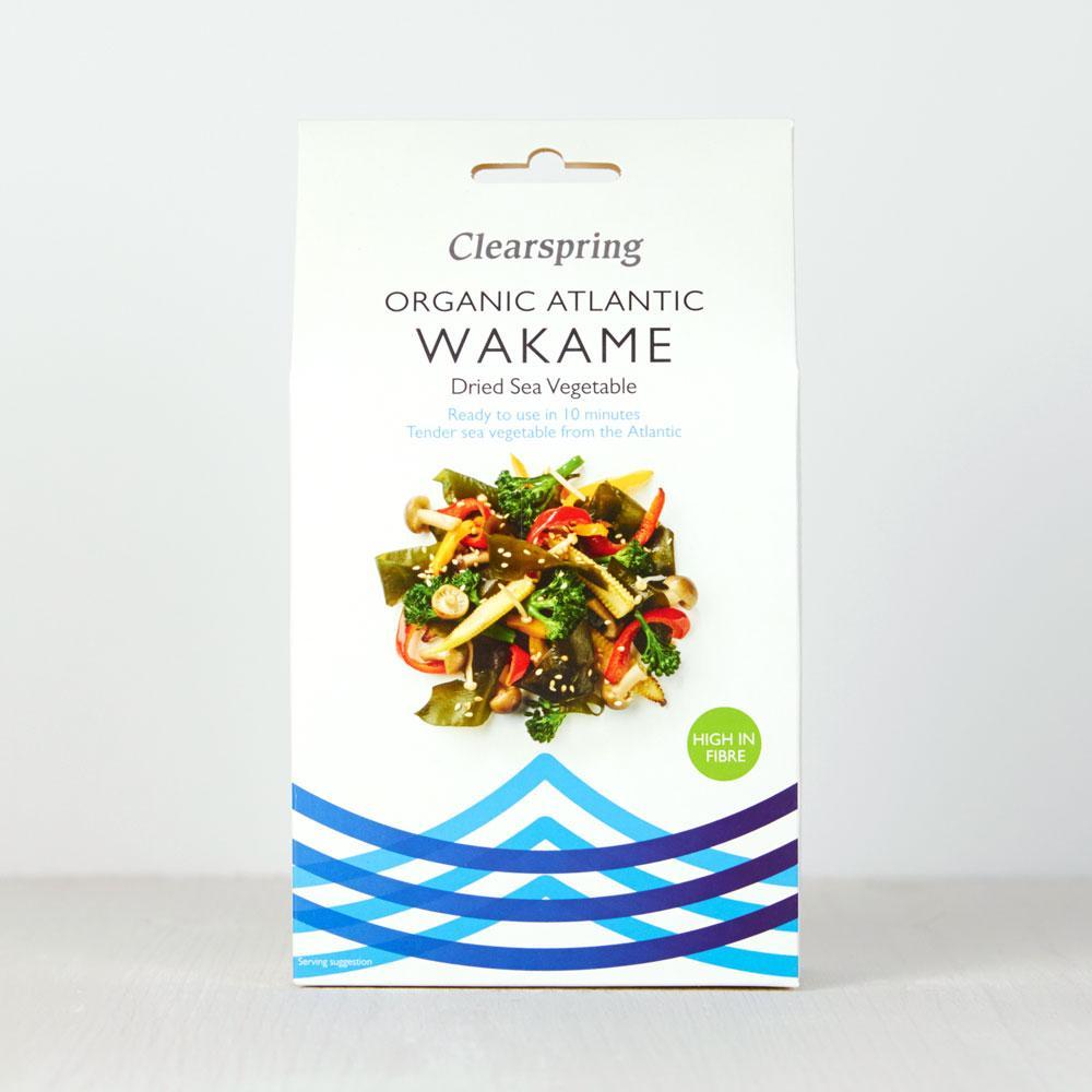 Clearspring Atlantic Wakame Dried Sea Vegetable