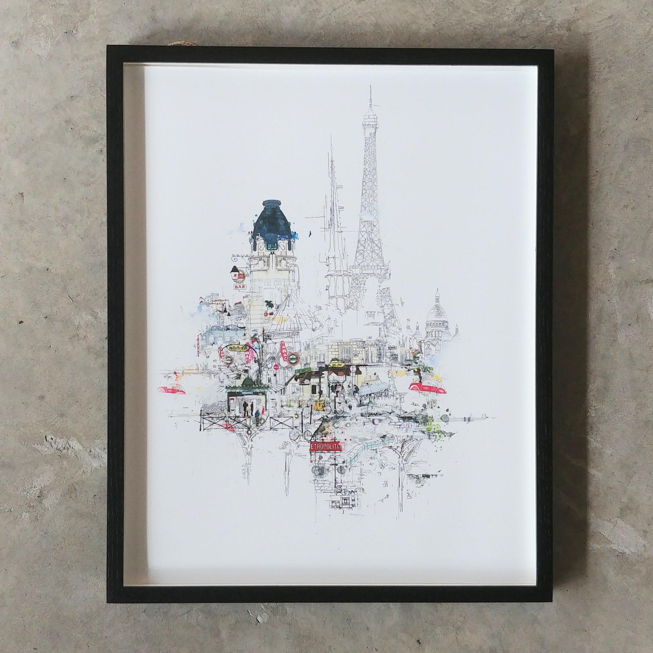 Laura Jordan Notre Dame (framed)