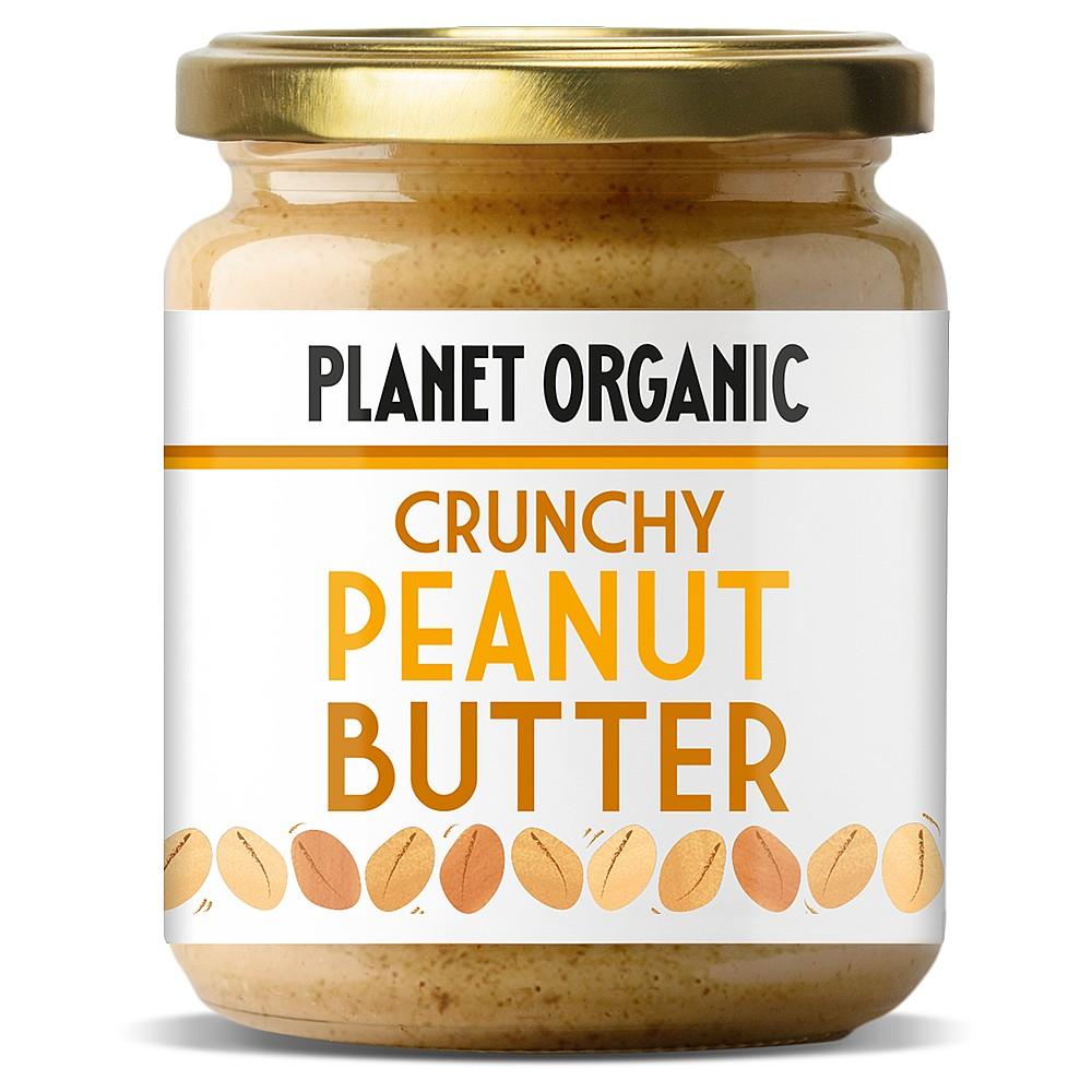 Planet Organic Crunchy Peanut Butter