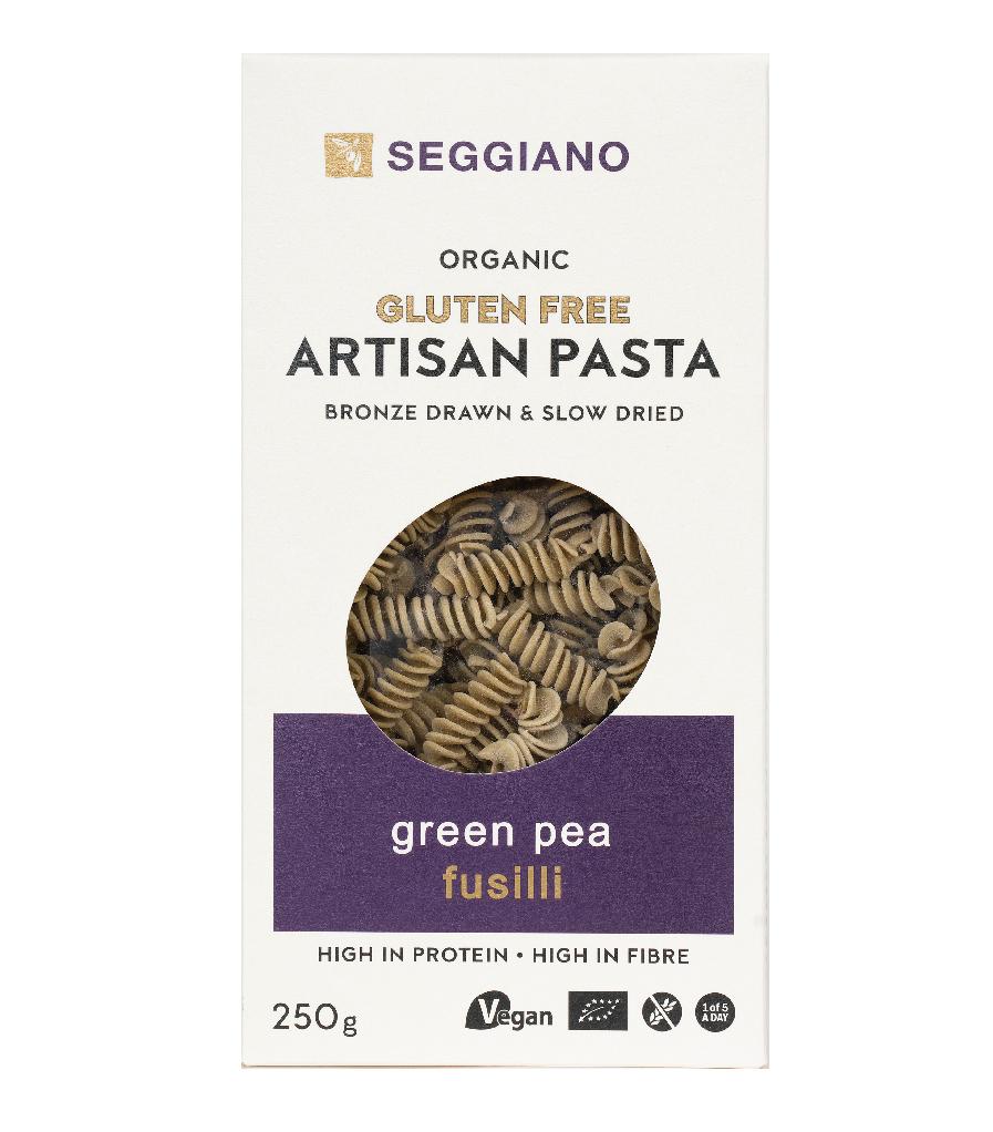Seggiano Organic Gluten Free Green Pea Fusilli