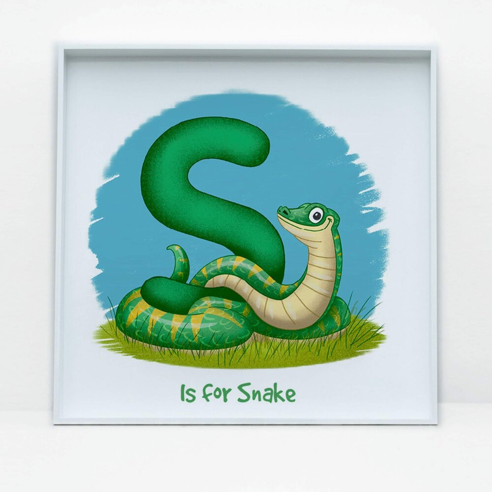 SDB Illustration_S is for Snake