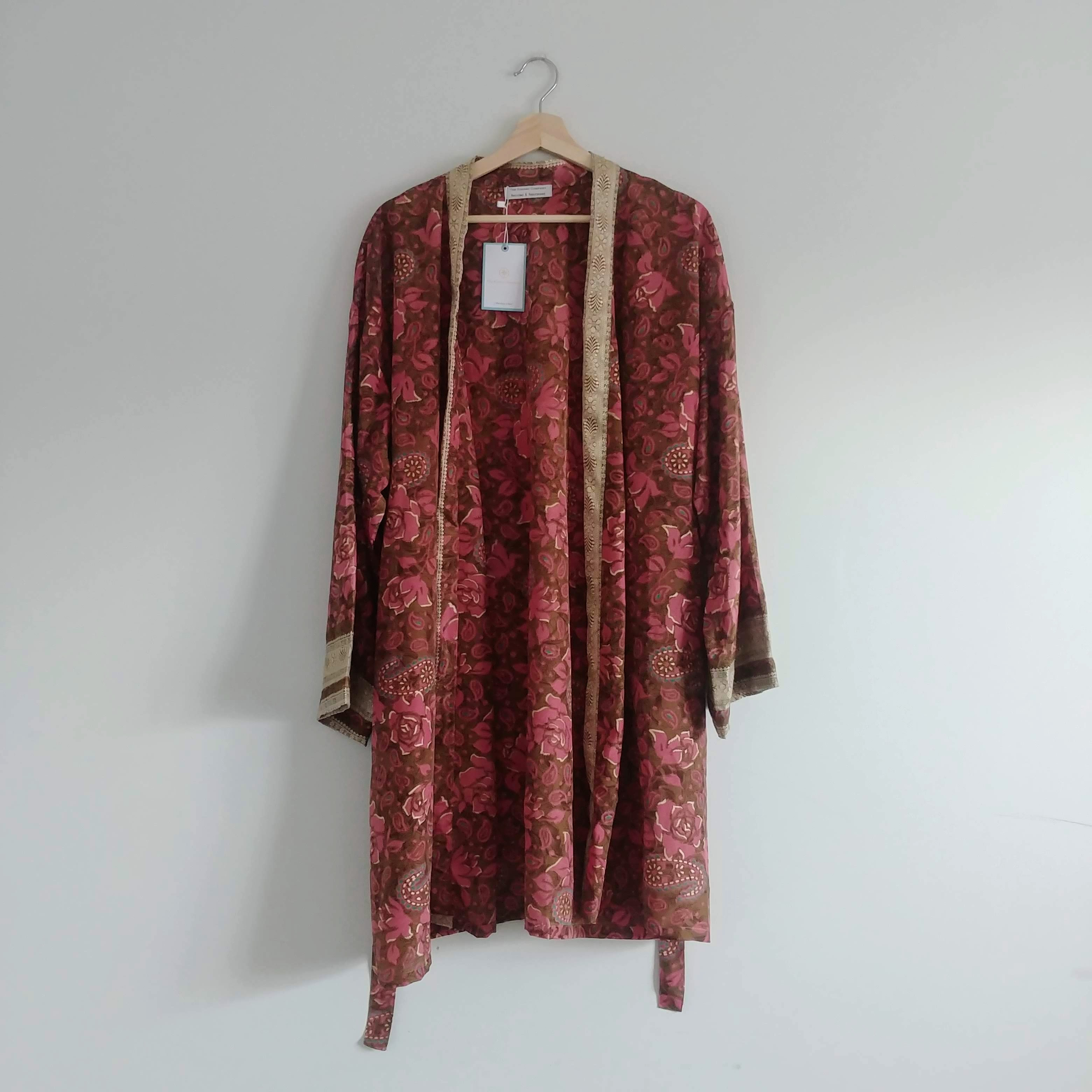 The Kimono Company - Short Kimono, Rose