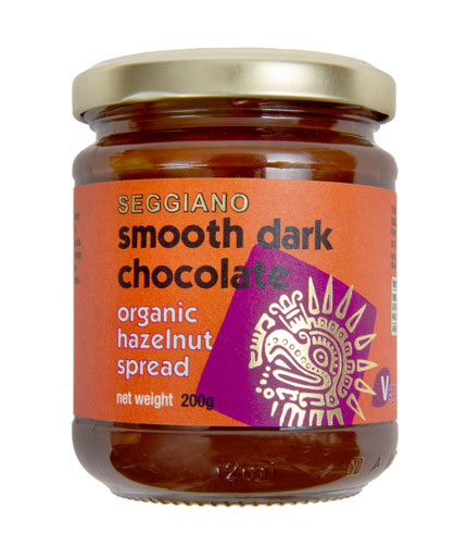 Seggiano Organic Smooth Dark Chocolate Hazelnut Spread 200g