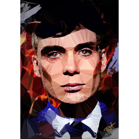Egoiste Gallery Thomas Shelby Signed A4 Print