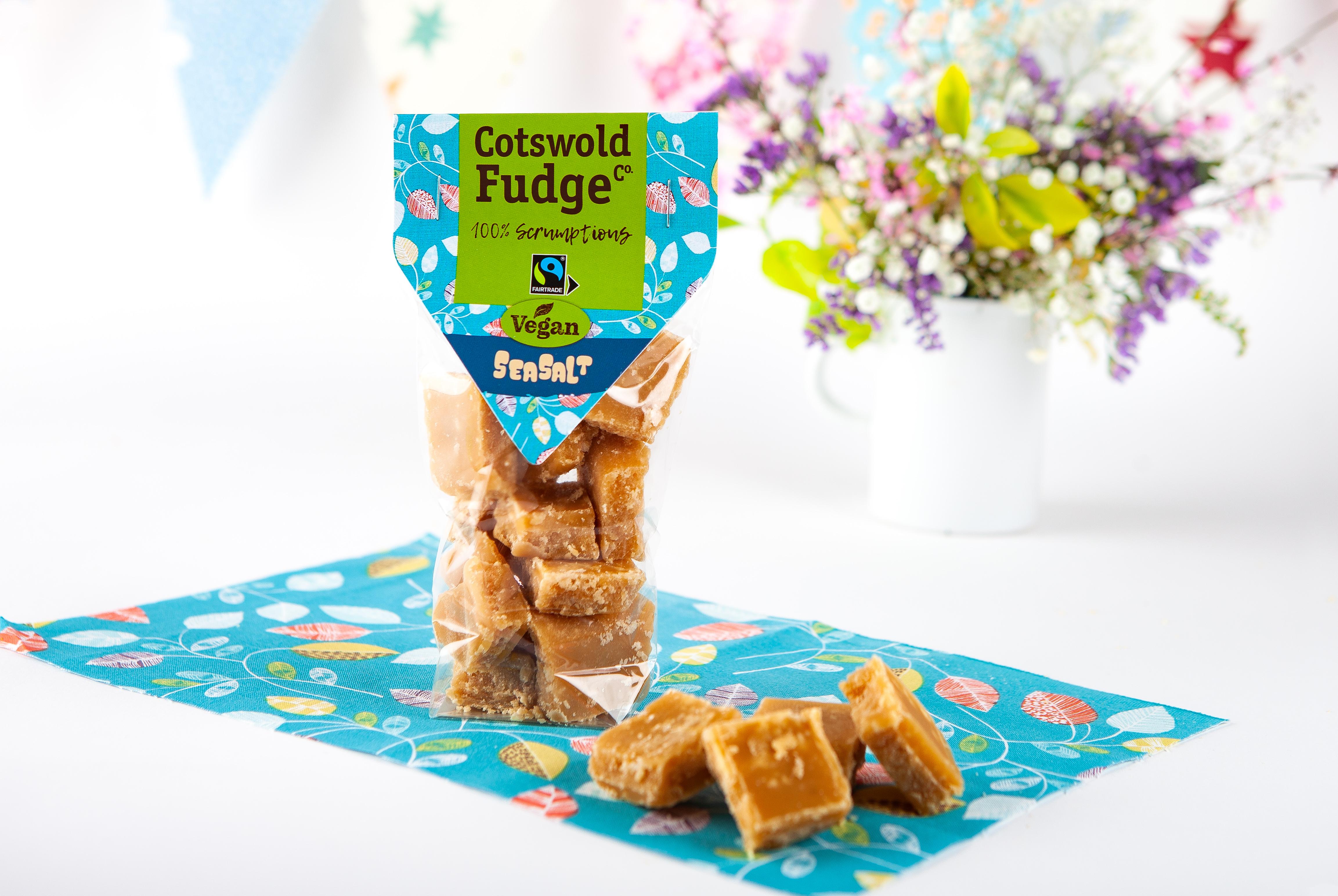 Cotswold Fudge Co Vegan Seasalt