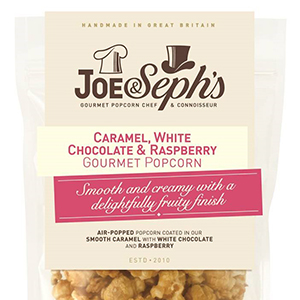 Joe & Seph's White Chocolate & Raspberry