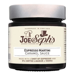 Joe and Sephs Espresso Martini Caramel Sauce