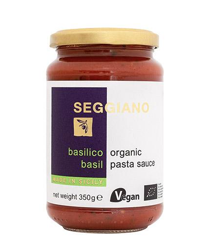 Seggiano Organic Basil Pasta Sauce