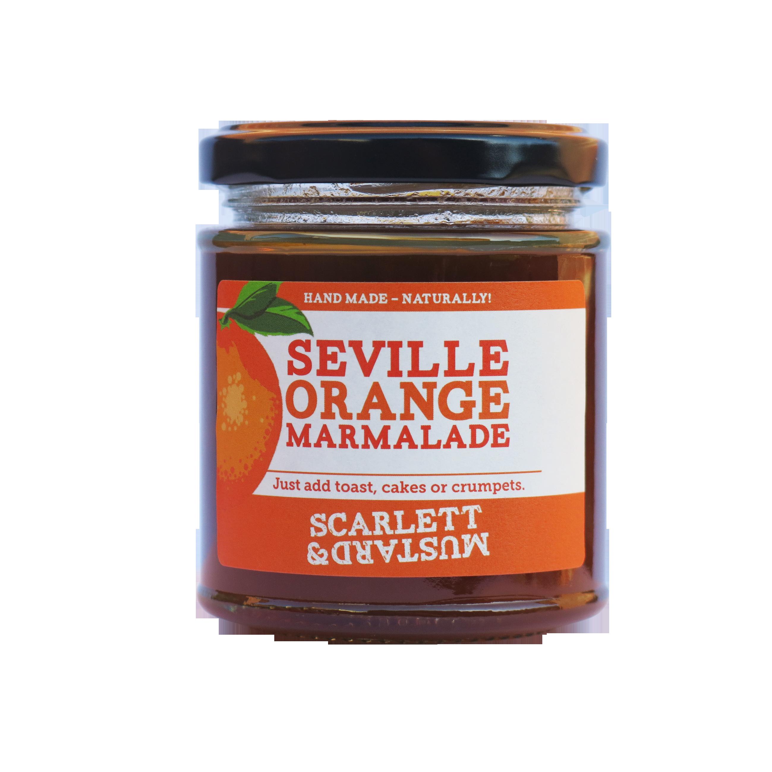 Scarlett & Mustard Seville Orange Marmalade
