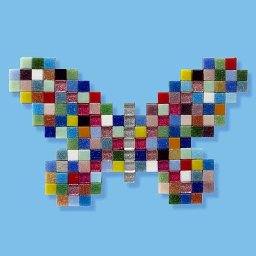 Mosaikit Butterfly