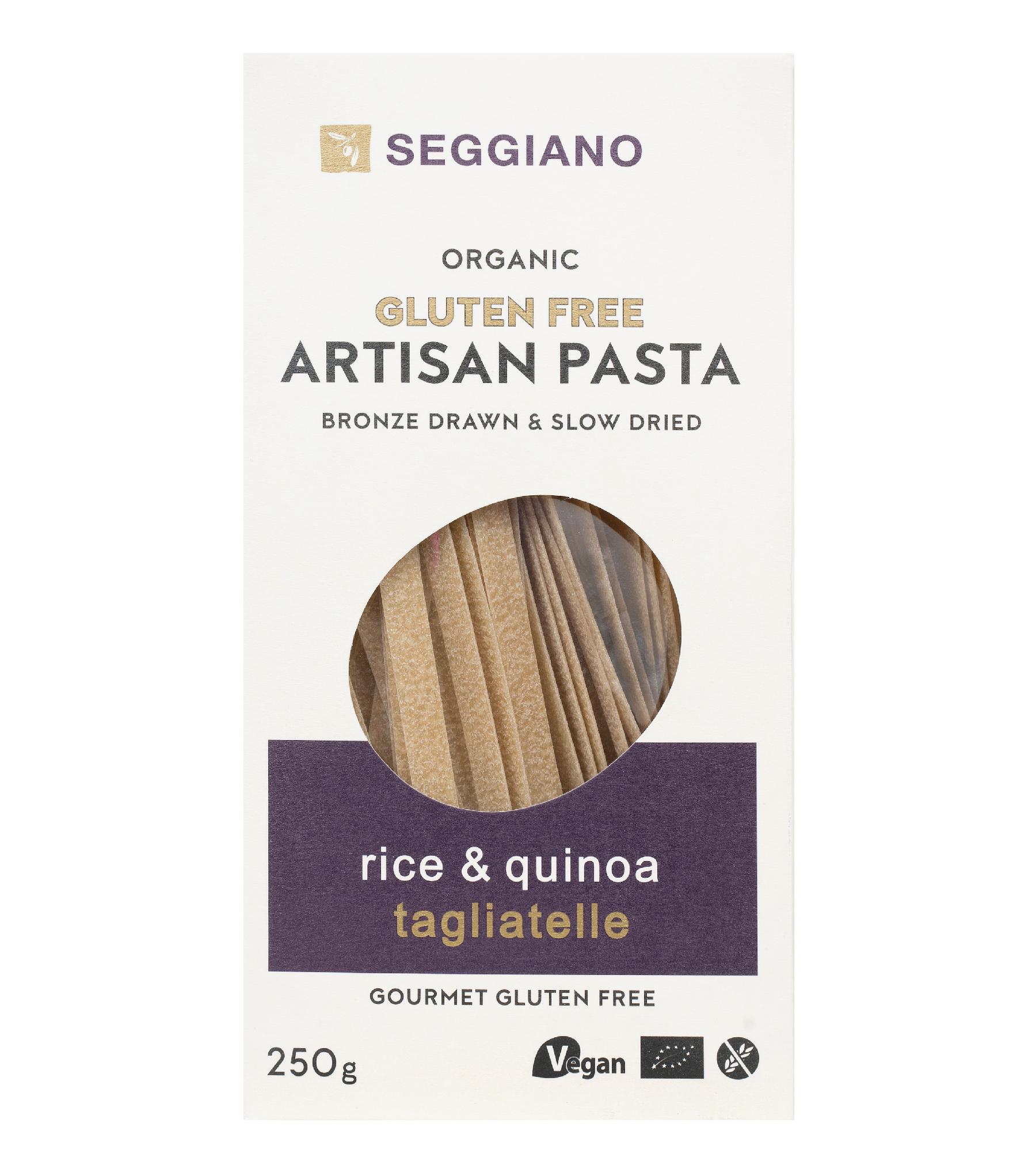 Seggiano Organic Rice & Quinoa Tagliatelle