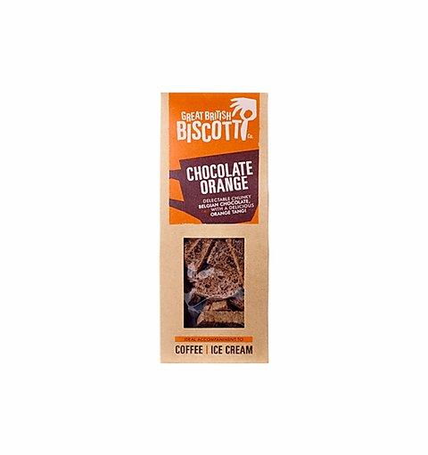 Great British Biscotti Dark Chocolate Orange